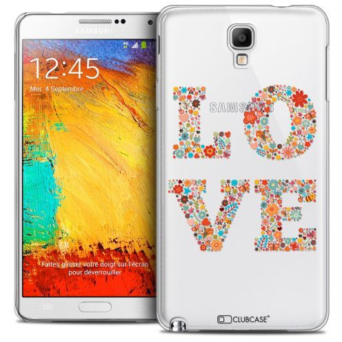 Extra Slim Crystal Galaxy Note 3 Neo/Mini Case Summer Love Flowers
