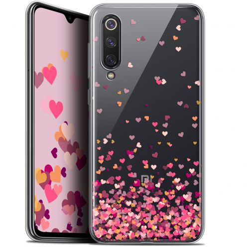 "Extra Slim Gel Xiaomi Mi 9 SE (5.97"") Case Sweetie Heart Flakes"