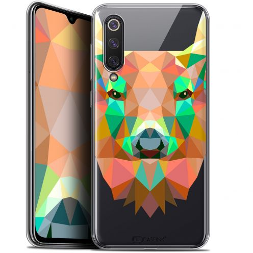 "Extra Slim Gel Xiaomi Mi 9 SE (5.97"") Case Polygon Animals Deer"