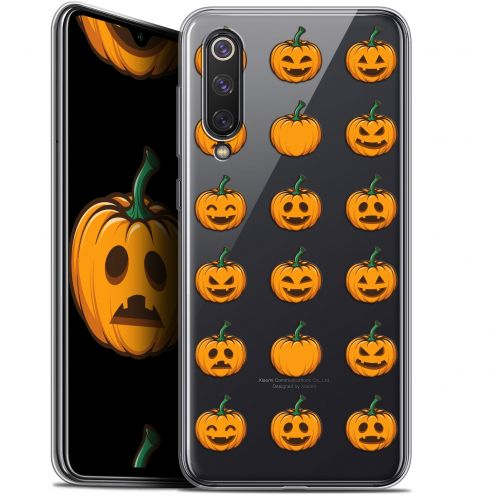 "Extra Slim Gel Xiaomi Mi 9 SE (5.97"") Case Halloween Smiley Citrouille"