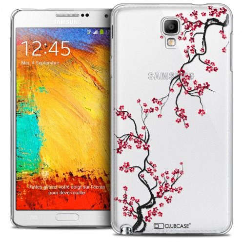 Extra Slim Crystal Galaxy Note 3 Neo/Mini Case Summer Sakura