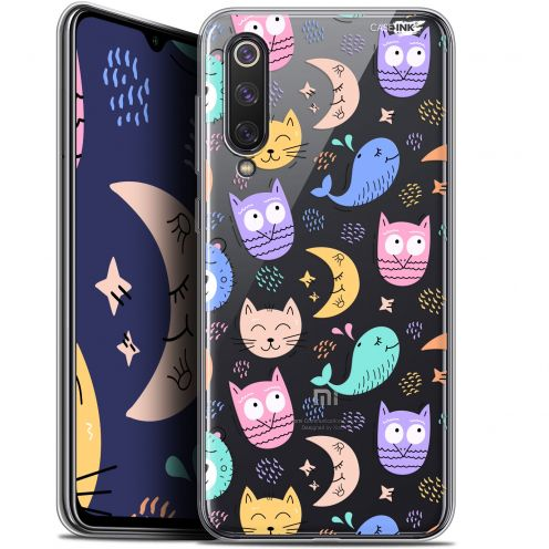 "Extra Slim Gel Xiaomi Mi 9 SE (5.97"") Case Design Chat Hibou"