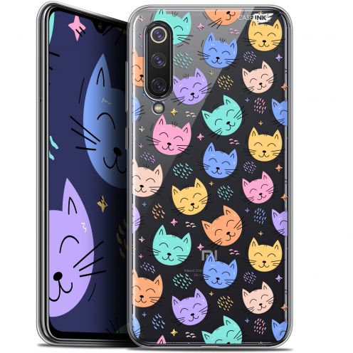 "Extra Slim Gel Xiaomi Mi 9 SE (5.97"") Case Design Chat Dormant"
