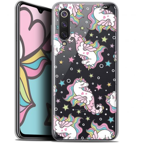 "Extra Slim Gel Xiaomi Mi 9 SE (5.97"") Case Design Licorne Dormante"