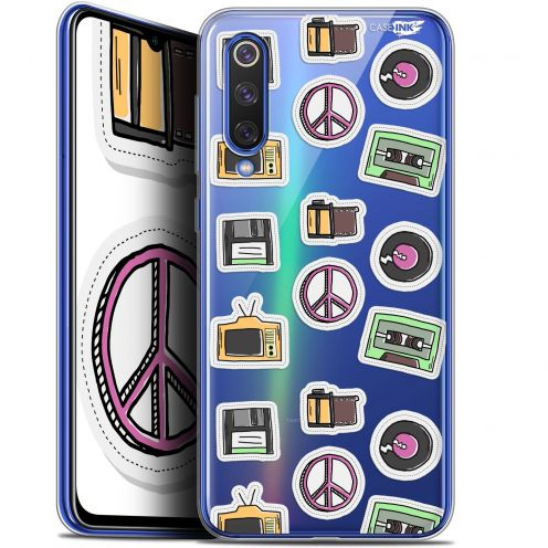 "Extra Slim Gel Xiaomi Mi 9 SE (5.97"") Case Design Vintage Stickers"