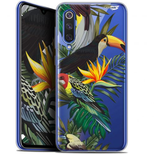 "Extra Slim Gel Xiaomi Mi 9 SE (5.97"") Case Design Toucan Tropical"