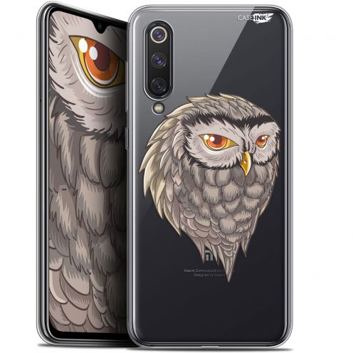 "Extra Slim Gel Xiaomi Mi 9 SE (5.97"") Case Design Hibou Draw"