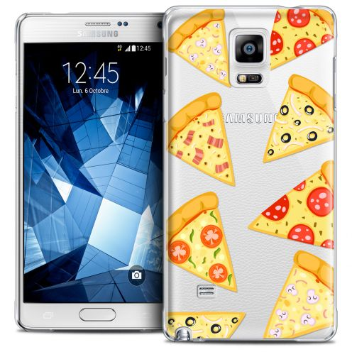 Extra Slim Crystal Galaxy Note 4 Case Foodie Pizza