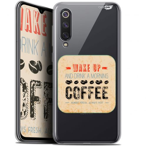 "Extra Slim Gel Xiaomi Mi 9 SE (5.97"") Case Design Wake Up With Coffee"