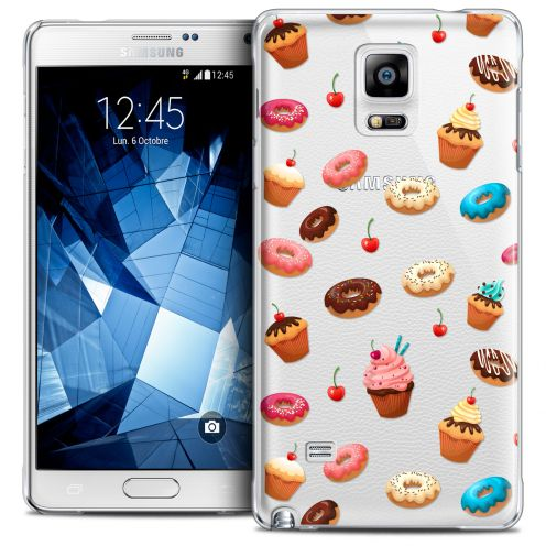 Extra Slim Crystal Galaxy Note 4 Case Foodie Donuts