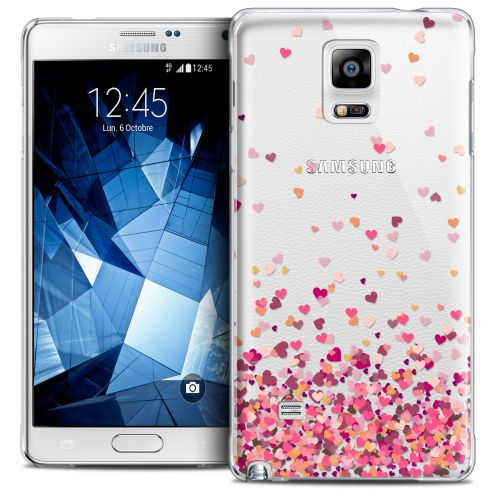 Extra Slim Crystal Galaxy Note 4 Case Sweetie Heart Flakes