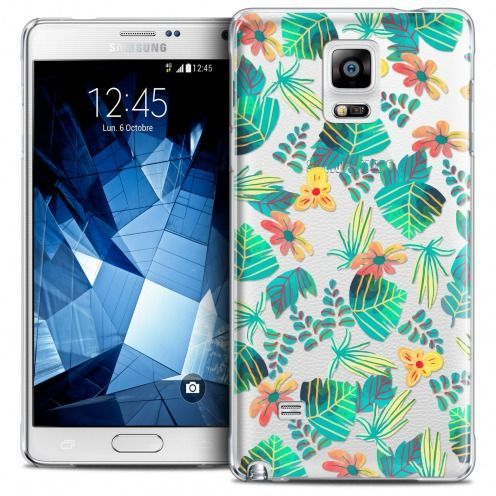 Extra Slim Crystal Galaxy Note 4 Case Spring Tropical