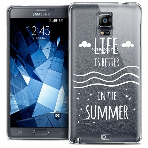 Extra Slim Crystal Galaxy Note 4 Case Summer Life's Better