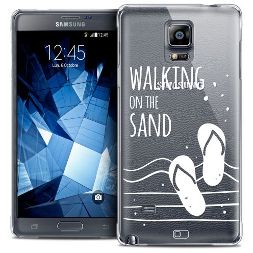 Extra Slim Crystal Galaxy Note 4 Case Summer Walking on the Sand