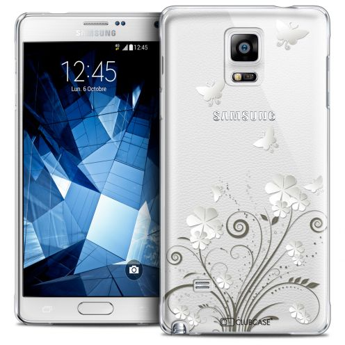 Extra Slim Crystal Galaxy Note 4 Case Summer Papillons