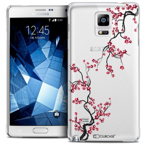 Extra Slim Crystal Galaxy Note 4 Case Summer Sakura