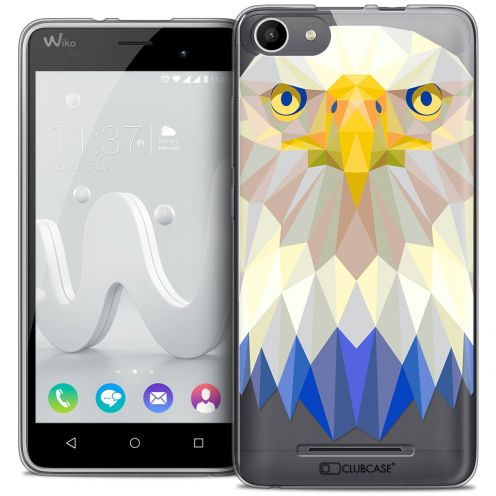 Extra Slim Crystal Gel Wiko Jerry Case Polygon Animals Eagle