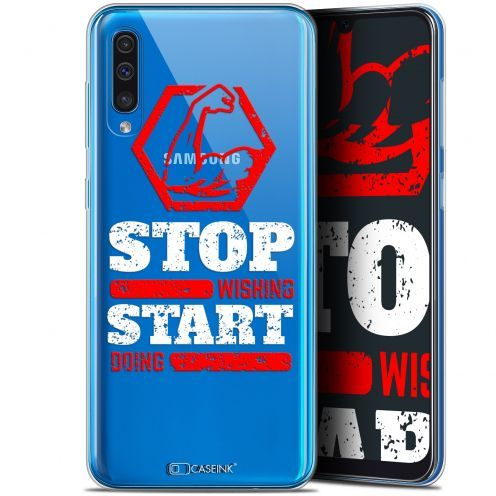 "Extra Slim Gel Samsung Galaxy A50 (6.4"") Case Quote Start Doing"