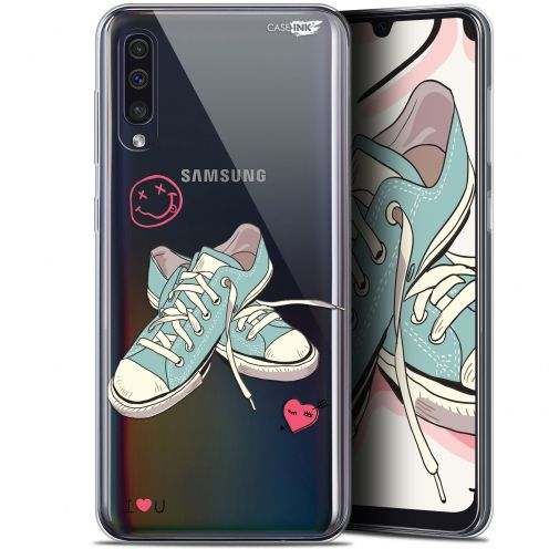 "Extra Slim Gel Samsung Galaxy A50 (6.4"") Case Design Mes Sneakers d'Amour"