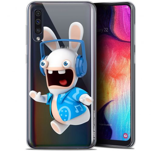 "Gel Samsung Galaxy A50 (6.4"") Case Lapins Crétins™ Techno Lapin"