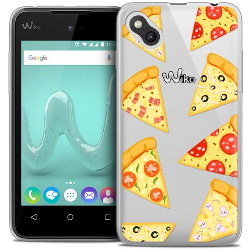 Extra Slim Crystal Gel Wiko Sunny Case Foodie Pizza