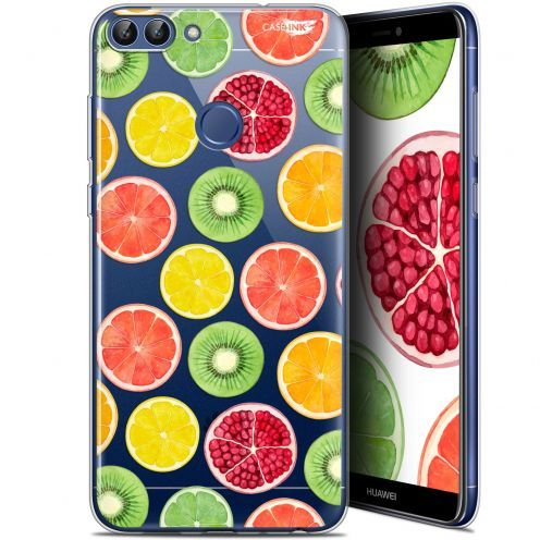 "Extra Slim Gel Huawei P Smart (5.7"") Case Design Fruity Fresh"