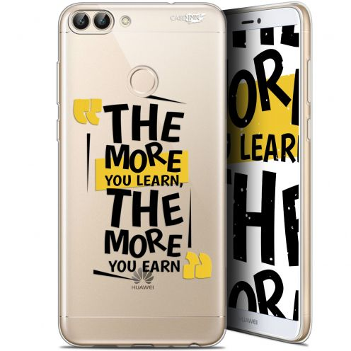 """Extra Slim Gel Huawei P Smart (5.7"""") Case Design The More You Learn"""