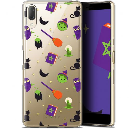 """Extra Slim Gel Sony Xperia L3 (5.7"""") Case Halloween Witch Potter"""