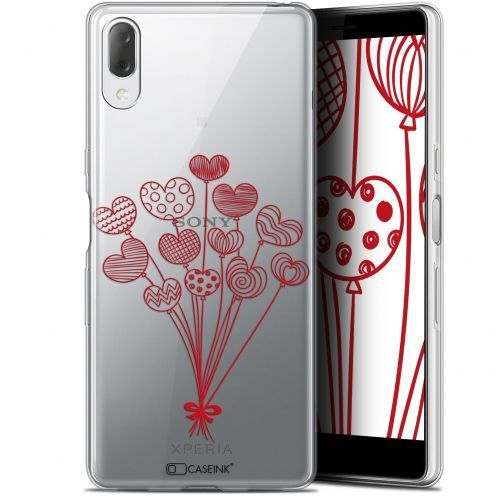 "Extra Slim Gel Sony Xperia L3 (5.7"") Case Love Ballons d'amour"