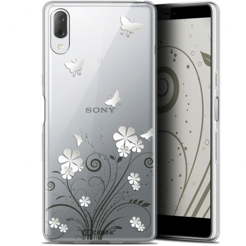 "Extra Slim Gel Sony Xperia L3 (5.7"") Case Summer Papillons"