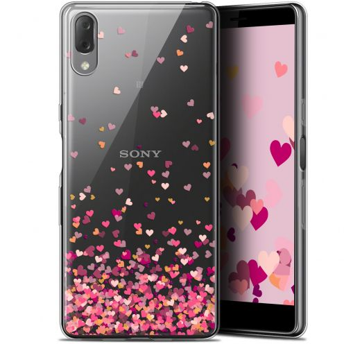 "Extra Slim Gel Sony Xperia L3 (5.7"") Case Sweetie Heart Flakes"