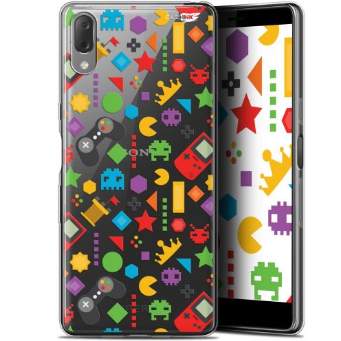 "Extra Slim Gel Sony Xperia L3 (5.7"") Case Design PacMan"