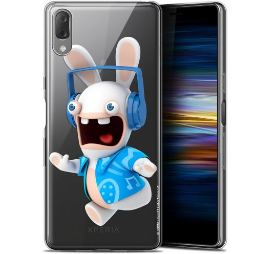 """Gel Sony Xperia L3 (5.7"""") Case Lapins Crétins™ Techno Lapin"""
