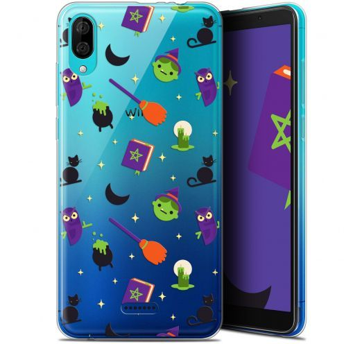 "Extra Slim Gel Wiko Y80 (6"") Case Halloween Witch Potter"