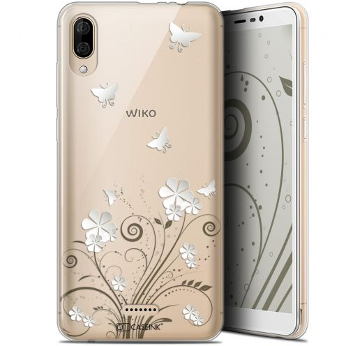 """Extra Slim Gel Wiko Y80 (6"""") Case Summer Papillons"""