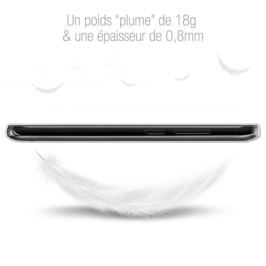 Extra Slim 1mm Crystal Clear View Flexible Case ZTE A452