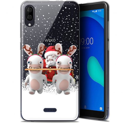 "Gel Wiko Y80 (6"") Case Lapins Crétins™ Lapin Traineau"