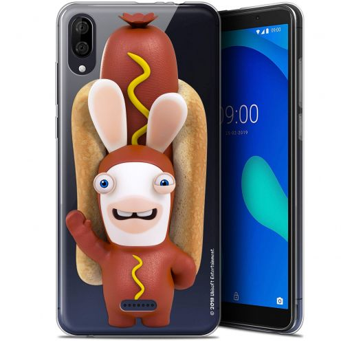 "Gel Wiko Y80 (6"") Case Lapins Crétins™ Hot Dog Crétin"
