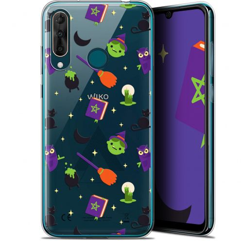 "Extra Slim Gel Wiko View 3 PRO (6.3"") Case Halloween Witch Potter"