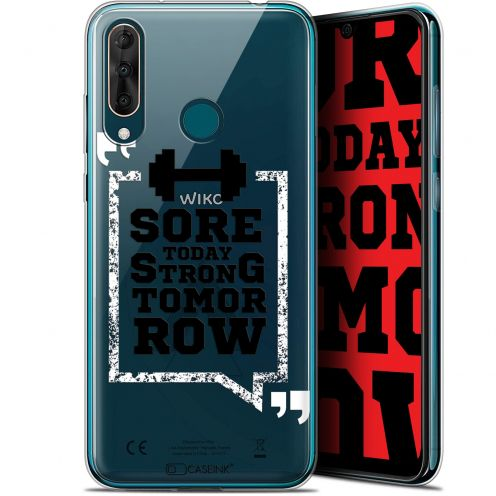 "Extra Slim Gel Wiko View 3 PRO (6.3"") Case Quote Strong Tomorrow"