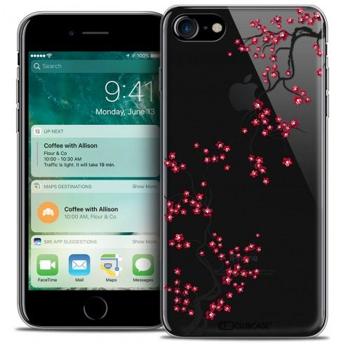 "Extra Slim Crystal Gel Apple iPhone 7 (4.7"") Case Summer Sakura"