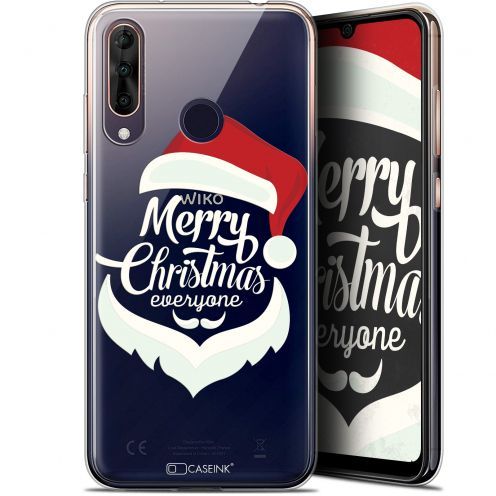 "Extra Slim Gel Wiko View 3 PRO (6.3"") Case Noël 2017 Merry Everyone"