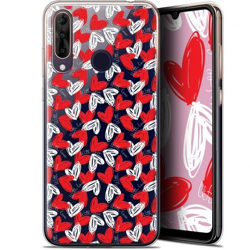 "Extra Slim Gel Wiko View 3 PRO (6.3"") Case Love With Love"