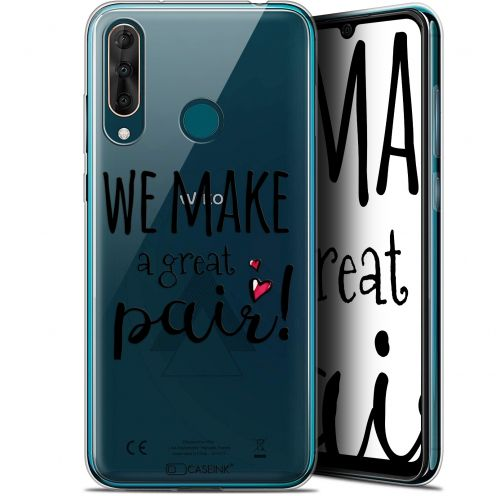 "Extra Slim Gel Wiko View 3 PRO (6.3"") Case Love We Make Great Pair"