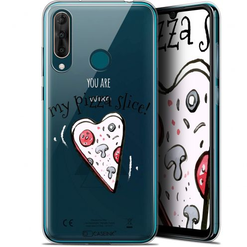 "Extra Slim Gel Wiko View 3 PRO (6.3"") Case Love My Pizza Slice"