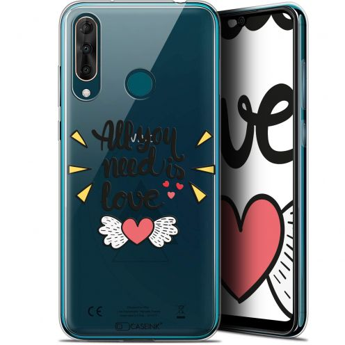 "Extra Slim Gel Wiko View 3 PRO (6.3"") Case Love All U Need Is"