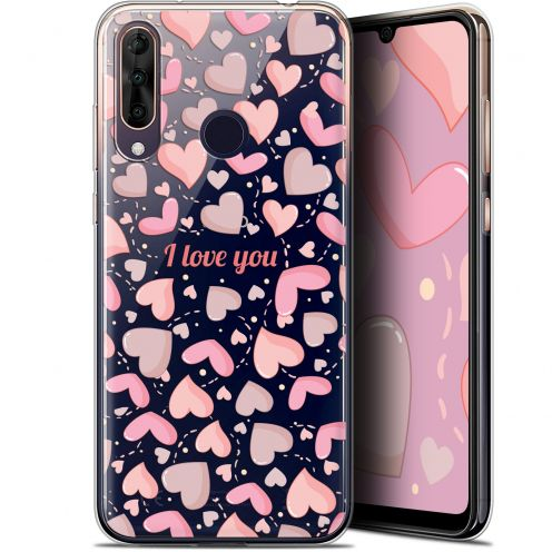 "Extra Slim Gel Wiko View 3 PRO (6.3"") Case Love I Love You"
