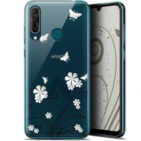 "Extra Slim Gel Wiko View 3 PRO (6.3"") Case Summer Papillons"