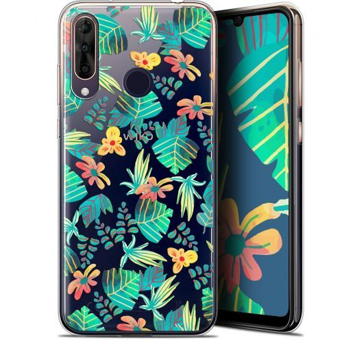 "Extra Slim Gel Wiko View 3 PRO (6.3"") Case Spring Tropical"