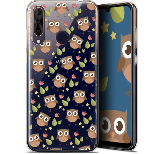 "Extra Slim Gel Wiko View 3 PRO (6.3"") Case Summer Hibou"